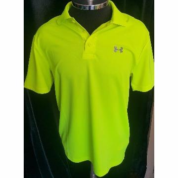 Camisa verde limao under armour M