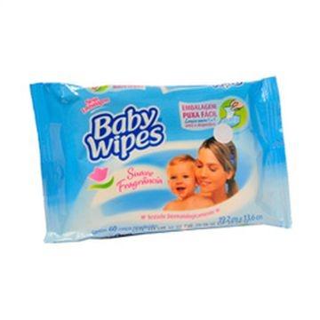 LENÇOS UMED BABY WIPES C/60