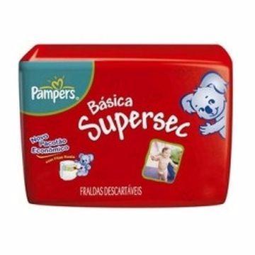 FRALDA PAMPERS SUPÉRSEC XG C/24