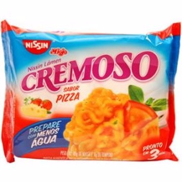 MACARRÃO INST NISSIN CR PIZZA 85G