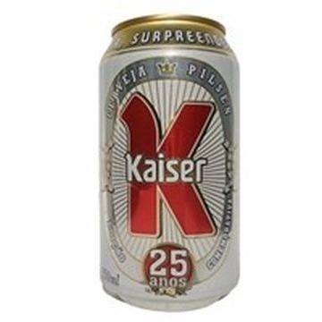 CERVEJA KAISER LATA 350ML