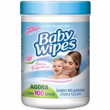 LENÇOS UME BABY WIPES C/100UNI