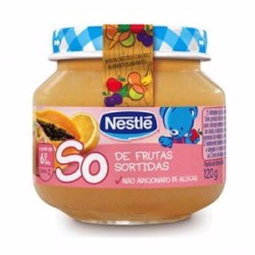 PAPINHA DE FRUTAS SORTIDAS 120G
