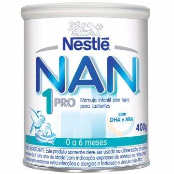 NAN 1 PROBIOTICO 0 A 6 MESES 400G