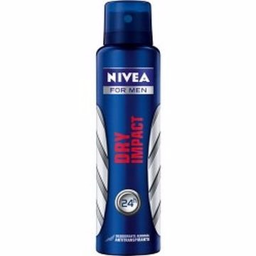 DESODORANTE AER NIVEA DRY FOR MEN 150ML