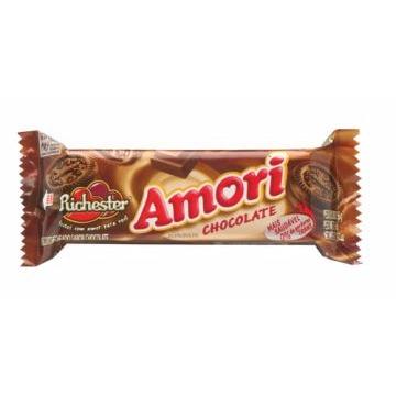 BISCOITO RECHEADO AMORI CHOCOLATE 56G