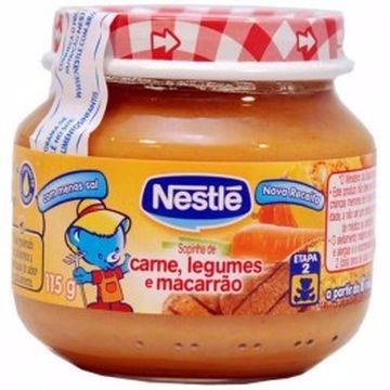 SOPINHA DE CARNE, LEGUMES E MACARRÃO 115G