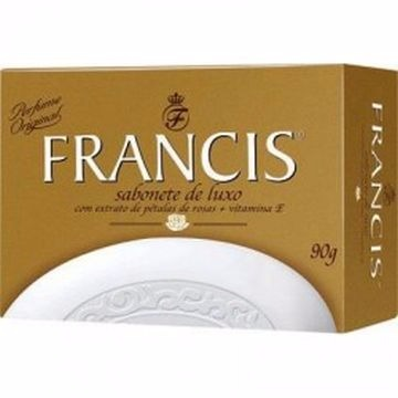 SABONETE FRANCIS LUXO BRANCO 90G