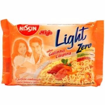 MACARRÃO INST NISSIN LIGHT GAL 80G