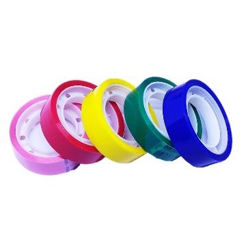 Washi Tape Fita Adesiva Colorida 5 peças