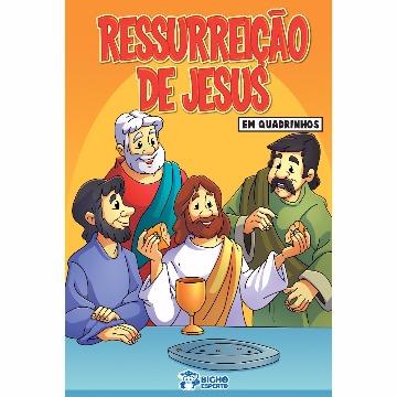 Revista Em Quadrinhos Ressurreição de Jesus (20 Revistas)