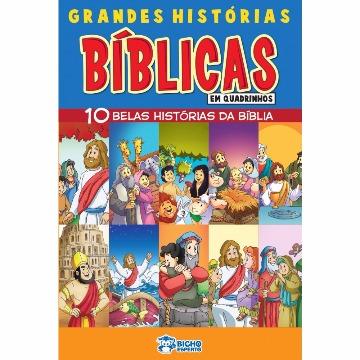Grandes Histórias Bíblicas em Quadrinhos (10 Revistas)