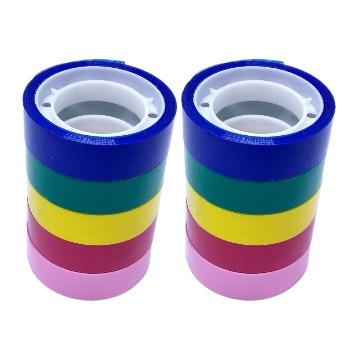 Washi Tape Fita Adesiva Colorida 10 peças