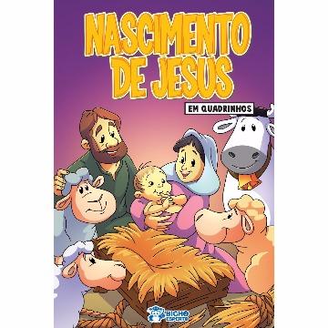 Revista em quadrinhos Nascimento de Jesus (20 revistas)
