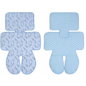 Capa Acolchoada Carrinho Cadeirinha Bebê Azul Papi 2634
