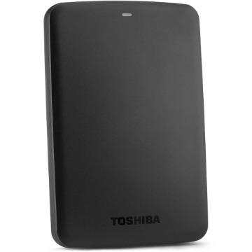 "HD Externo Toshiba Canvio Basics, 1TB, 2,5"", USB 3.0, Preto"