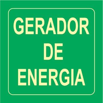 Placa Gerador de Energia - S17-ENE 14x14cm