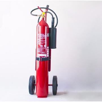 Extintor de Gás Carbônico Classe BC de 10 Kgs ( Carreta )