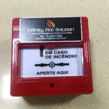 Botoeira Alarme De Incêndio - Mod. IFS-C - Convencional
