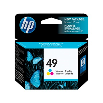 CARTUCHO HP 49 ORIGINAL 51649A COLOR | OFFICEJET 500 | DESKJET 350 | PSC370