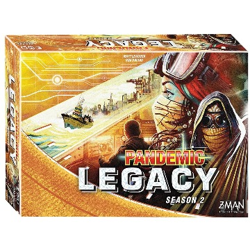 PANDEMIC LEGACY YELLOW 2