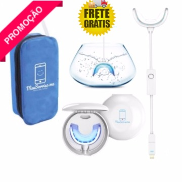 Kit Completo Para Clareamento Dental Domestico Meusorriso Me