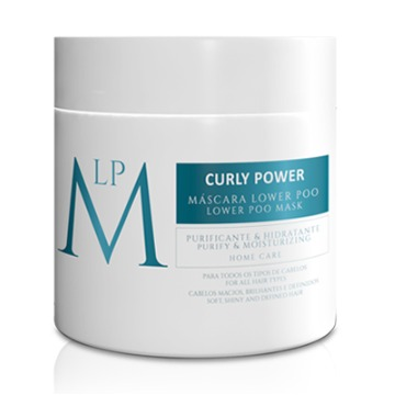 MÁSCARA PURIFICANTE & HIDRATANTE LOWER POO CURLY POWER 500 ml