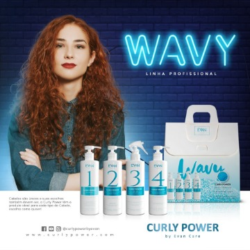 Kit WAVY CURLY POWER 4 Produtos