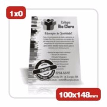 1.4-FOLHETO 10X15 1X0 COR SULFITE 75 GR-5000 UN