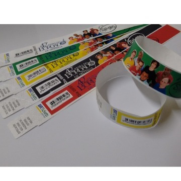 Pulseiras De Controle De Evento Full Color Kit 5.000 Unid.
