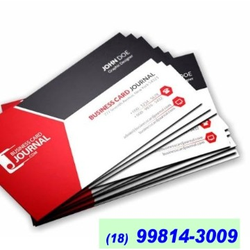 Cartão de Visita Couchê 250g Lam. Fosca + UV Local 9x5 500 unid
