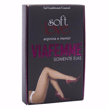 VIAFEMME SUPER EXCITANTE FEMININO 6G SOFT LOVE