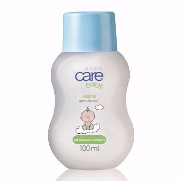 652525 Colônia Baby Sem Álcool Care Avon 100ml