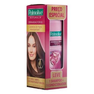 032312 Kit Shampoo + Condicionador Naturals Ceramidas Force Palmolive