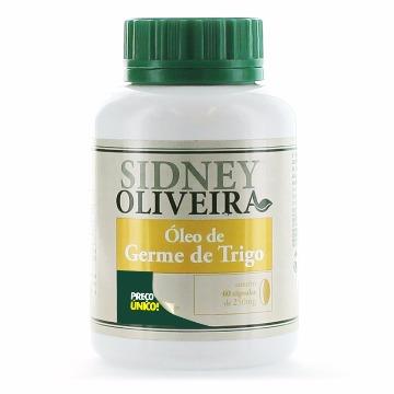 19988 Óleo de germe de trigo - Sidney Oliveira Rahda  60 cápsulas