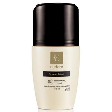 22597 Desodorante Roll-On Sensual Velvet Eudora 55ml