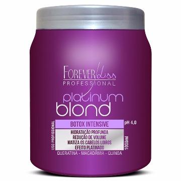 11117 Botox Intensive Platinum Blond Botox Intensive Matizador Forever Liss 1kg
