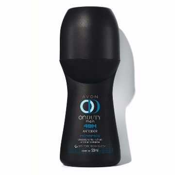 507623 Desodorante Roll-On On Duty Men Minerals Avon 50ml