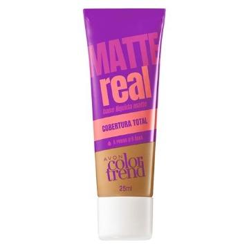 511222 Base Matte Real Colortrend Castanho Avon 25ml