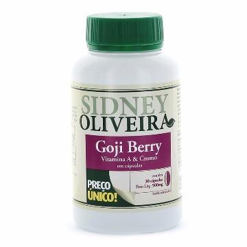 20954 Goji berry + vitamina a + cromo - Sidney Oliveira Rahda 30 cápsulas