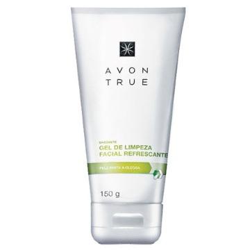 69347 Gel de Limpeza Facial Refrescante True Avon 150g