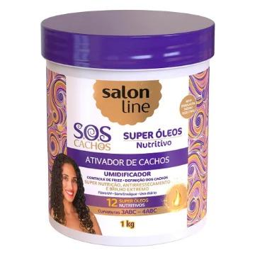 346826 Ativador De Cachos Salon Line Super Óleos Nutritivo S.O.S 1kg