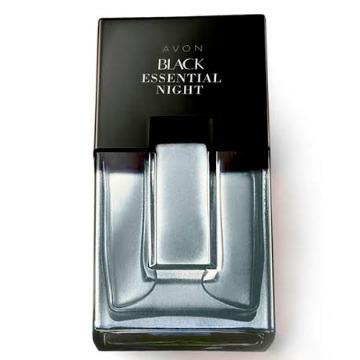 522345 Colônia Black Essential Night Avon 100ml