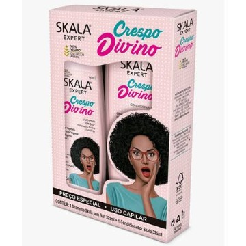 215450 Kit Shampoo + Condicionador Crespo Divino Skala