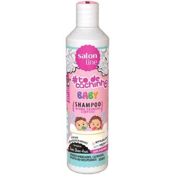 952652 Shampoo #todecacho Baby Minha Primeira Limpeza Salon Line 300ml