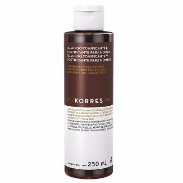 460877 Shampoo Antiqueda Tonificante e Fortificante Magnésio e Proteína do Trigo Korres 250ml