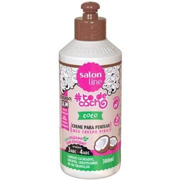 34899 Creme Pentear #todecacho Coco Salon Line 300ml