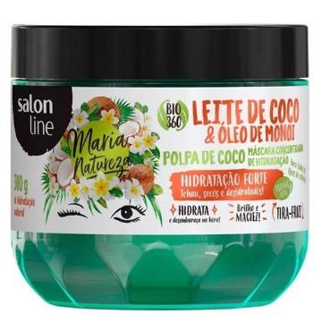 951785 Máscara de Hidratação Salon Line Leite de Coco & Óleo de Monoi Maria Natureza 300g
