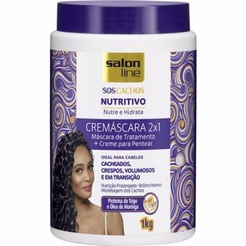 34847 Cremáscara 2x1 S.O.S Cachos Nutritivo Salon Line 1KG