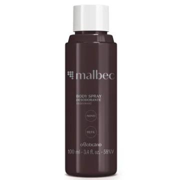 25076 Desodorante Spray Malbec Refil Boticário 100ml